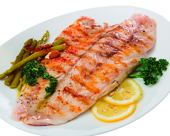 Skinless tilapia fillets